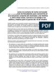 CEAPA-SE Nota de Prensa Sobre Semana de Lucha Conjunta Estudiantes y Familias