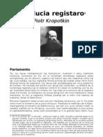 KROPOTKIN Revolucia Registaro