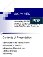 2007-47-EEC - Rev MDD