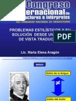 Presentación Para El Congreso Internacional de Traductores 2002 01