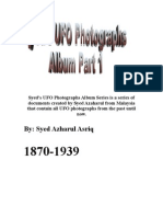 Syed's UFO Photos Album Parts 1 - 3