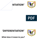 Differentiation October 2012