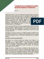 PUBLIC LAW 42-576 OU LE DESTIN D'HAÏTI  Publié par THEURIET - 18 decembre 2011