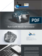 Rare Earth Metals Investment Opportunity