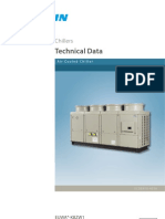 Daikin Chiller (EUWA-KBZW1) Air Cooled Technical Data Book