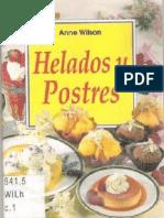 Anne Wilson- Helados y Postres