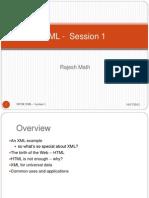 XML Overview 1