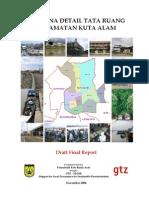20061100 Rencana Detail Tata Ruang Kecamatan Kuta Alam