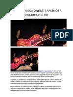 Curso de Viola Online