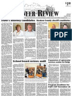 Pioneer Review, October 18, 2012