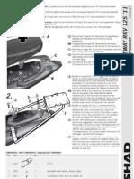 Manual Instalación Fijacion Baul Shad 2266 (KEEWAY RKV 125)