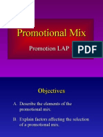 Promotional Mix Powerpoint