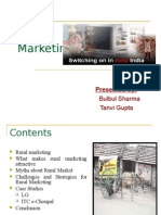 Rural Marketing in India with Case Studies of LG and ITC