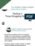 Reeling in Reluctant Readers Webinar Sept 2012