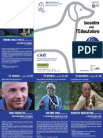 Incontro Con l'EducAutore - ROVIGO 2012 (Pieghevole)