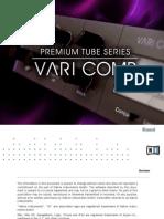 Premium Tube Series Vari Comp Manual English