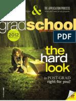 Grad School Planning Guide (Winter 2012)