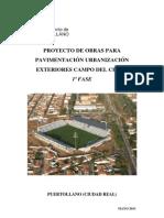 Memoria Seguridad y Salud-Urbanizacion Exteriores Campo Cerru 1a Fase