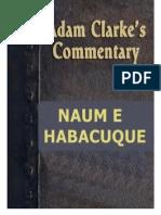 COMENTÁRIO ADAM CLARKE - NAUM e HABACUQUE