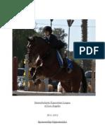 interscholastic equestrian league brochure draft 2