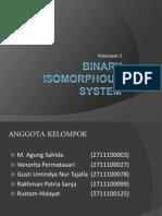 Binary Isomorphous System