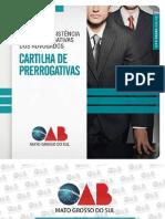 Cartilha Das Prerrogativas Do Advogado (OAB)
