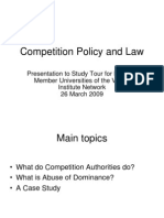 Compeiion Policy n Law
