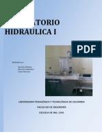 Guias laboratorio hidráulica I UPTC