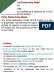 3. Entity Relationship Model