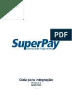 SuperPay - Guia para Integração - 2.5.0