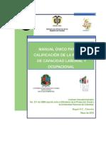 Manual Unico Para La Calificacion de La Perdida de Capacidad Laboral y Ocupacional