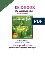 E-Book Tanaman Obat