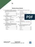 Montana Results