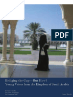 Bridging the Gap – But How? Young Voices from Saudi Arabia