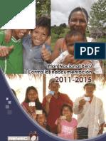 Plan Nacional Perú contra la Indocumentación 2011-2015. Indice y agradecimientos.