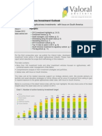 Global Agribusiness Investment Outlook Oct. 2012