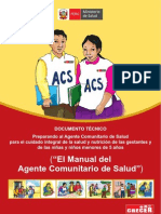 Manual del agente comunitario en salud