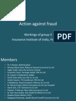 Action Against Fraud - Workshop Group 3 Presentation