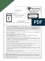 Auditor Prova 1 2012