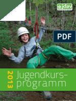 JDAV Jugendkursprogramm 2013 OL