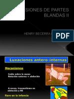 Lesiones en Partes Blandas II