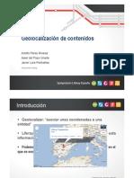 Adolfo Perez - Geolocalizacion de Contenidos