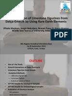 Characterization of Limestone Figurines from Datça-Emecik by Using Rare Earth Elements