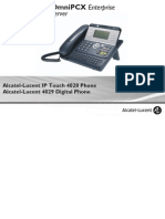 Alcatel-Lucent 4029 IP Touch 4028 Digital Phone OXOffice Manual MU19005ACAC-E900ed01-0843
