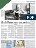 Giorgio Pisanò, coerenza e passione