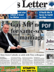 News Letter Front 18 Oct