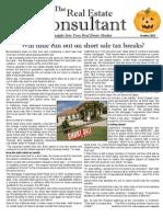 Leah Duckworth Real Estate October 2012 Newsletter