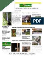 Ruta Tursitica Mocoa Putumayo