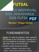 Futsal fundamentos.