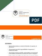 Present Ac i on Prende Prensa y democracia mexico AC